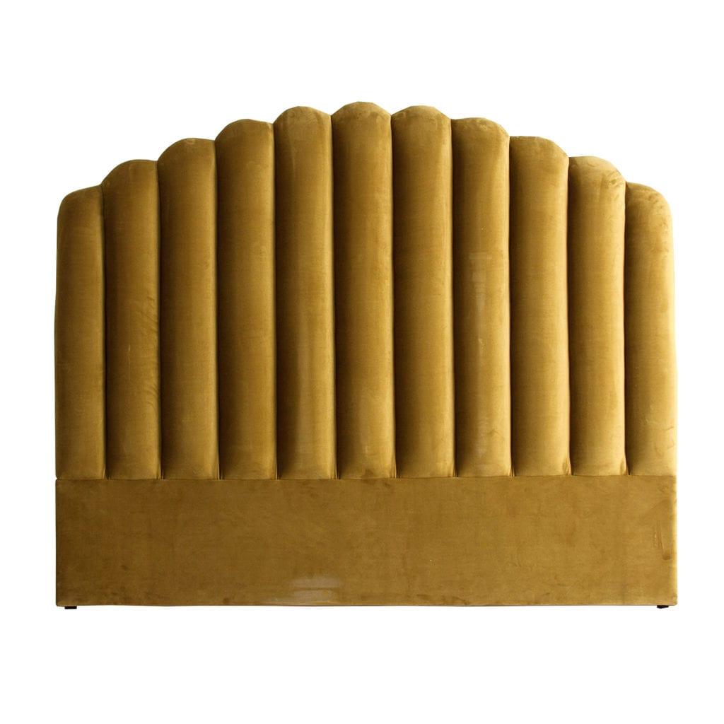 Cabecero mostaza